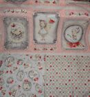 Pink Roses, Santoro, Le Vie En Rose Fabric, Cotton Fabric, Gothic, Girls Fabric
