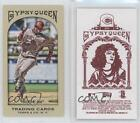 2011 Topps Gypsy Queen Mini Red Back #254 Brandon Phillips Cincinnati Reds Card