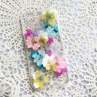 Real Dried Pressed Flower iPhone 7 6 6s plus case Real Handmade floral cover SHF