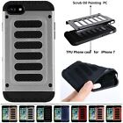 Heavy Duty Hybrid 2 in1 Combo Shockproof PC+TPU Case Cover For iPhone 7/7 Plus
