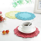 Cute 2Pcs/set 10cm Cup Bowl Tableware pads Silicone Table Non-Slip Potholder