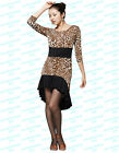 SCD7031AP New Women Ballroom Latin Rhythm Salsa Swing Dance Black Costume Dress