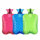 2L Thick Transparent PVC HOT WATER Bag Bottle WARM Relaxing Heat / Cold Therapy