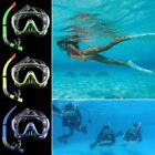Anti-Fog Swimming Full Face Mask Surface Diving Mask Scuba Snorkel for GoPro New