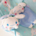 Cinnamoroll big ears dog plush toy eggshell storage pocket folded blanket 1pc