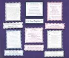 6 BAPTISM Greeting Card Craft Verse Toppers W/WO Matching Sentiment Banners