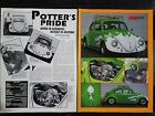 1960 Volkswagon VW Beatle Bug - 2 Page Original Article - Free Shipping