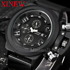 Men's Fashion Sport Watch Date Chronograph Analog Quartz Wrist Watch Waterproof
