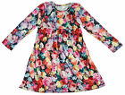 Girls Baby Brushed Velvet Floral Dress Newborn to 6 Months CLEARANCE SALE