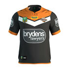 WESTS TIGERS NRL 2017 OFFICIAL ISC HOME MENS ADULTS JERSEY SUPPORTER