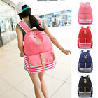 Women Canvas Casual Shoulder Backpack Travel Satchel School Student Bag 4 Colors