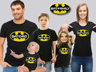 Batman Family Birthday T-shirts, Batman Birthday Tops, Batman T-shirts. Bat Tops