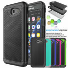 Shockproof Rugged Rubber Hard Case Cover For Samsung Galaxy J3 Emerge / J3 2017