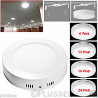6W 12W 18W 24W Ceiling Downlight Surface Mounted LED Panel Cool White Down Light