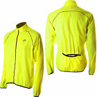 More Mile Flo Running Wind Mens Jacket - Hi Viz
