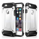 HYBRID SHOCKPROOF HARD HEAVY DUTY CASE COVER FOR IPHONE 7 PLUS WHITE 02