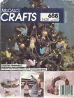McCall's 688 Angels, Stars, Birds and Christmas Balls   Sewing Pattern