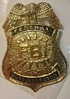 Police Badge Funny Pin FBI Federal Butt Inspector Halloween Costume Metal