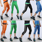 Sport Athletic Wear Compression Tight Under Base Layer Tops Shirt Pants Leggings