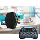 T95Z Plus 16GB Fully Loaded 1080p 4K 3D Wifi Android 6.0 TV Box+Backlit Keyboard