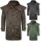 MENS GAME KENSINGTON ANTIQUE WAX SHORT CAPE HORSE RIDING OUTDOOR COAT COUNTRY