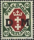 Gdansk D7 unmounted mint / never hinged 1921 service mark