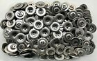 23mm 36L Antique Silver Effect Metal 4 Hole Coat Blazer Jacket Buttons  (M27)