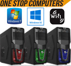 CUSTOMISE YOUR SUPER FAST COMPUTER PC CUSTOMISE RAM HDD PROCESSOR WINDOWS WIFI
