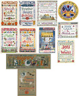 Imaginating Counted Cross Stitch Patterns BY SANDRA COZZOLINO Choose! Variety