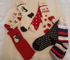GYMBOREE Size 3 4 5 7 8 Valentines Day or Winter Penguin Socks Choice NWT