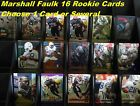 MARSHALL FAULK _ 16 Different Rookie Cards  _ 10 or More Mail FREE in USA