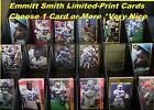 EMMITT SMITH _ 21 Different Limited-Print Cards  _ Choose 1 or Several