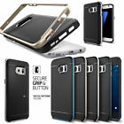 Galaxy S5 S6 Edge S7 Edge Case Cover 2 Layer PC + TPU Combination