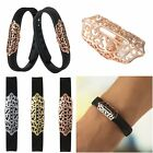 Fashion Stainless Steel Metal Ring Case Cover Shell Protector For Fitbit Flex 2