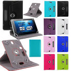 UNIVERSAL 360°Folio LEATHER STAND Case COVER FOR 10