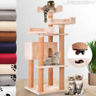 Cat Tree Kitten Scratching Post Activity Centre Bed Toy Climb Scratcher 127.4 cm