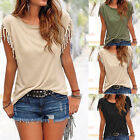 Fashion Women\'s Summer Loose Tops Shirt Short Sleeve Blouse Casual Tops T-Shirt