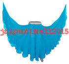TEAL BLUE Chiffon Gypsy 25 Yard Skirt Tribal Belly Dance 25 Yd Skirts S 3XL