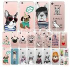 SOFT SLIM SILIKON iPHONE MOPS BULLDOGGE dog HANDY CASE Print COVER Schutz HÜLLE
