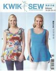 Kwik Sew 4114 Women's Tops      Sewing Pattern