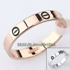 A1-R3123 Fashion Engagement Wedding Band Ring 18KGP Size 5.5-11.5