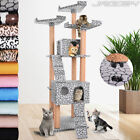Cat Tree Scratching Post Kitten Scratcher Toy Bed Climb Activity Centre 171.4 cm