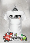 T-SHIRT UOMO DONNA CALL OF DUTY 2 BLACK OPS VIDEOGAMES