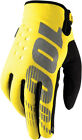 100% Brisker Gloves (Pair) Yellow Adult All Sizes