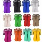 Women's Fashion Short Sleeve New Blouse Slim Solid Casual Tops Shirts 12 Colors