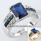 A1-R170 Fashion Simulated Gemstone Ring 18KGP Rhinestone Crystal Size 5.5-10