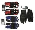 Motocross Racing Pro-Biker Bicycle Cycling Riding Leather Full Finger Gloves