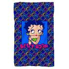"Betty Boop Pop Betty Fleece Blanket 36"" x 58"" 48"" x 80"" $29.99 USD"