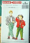 NEUE MODE STIL S 55094 Jacket & Pants Multi-Size Pattern Child/Boy/GIrl sz 5-10