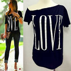 Women Loose Short Sleeve Cotton Casual Blouse Shirt Top Fashion Summer T-shirt A